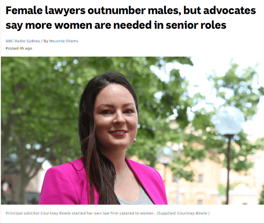 Female Lawyers Outnumber Males